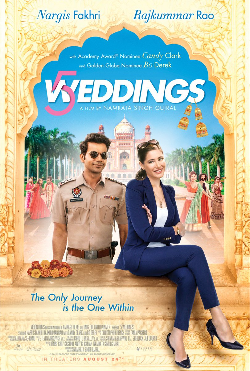 5 Weddings First Look starring Rajkummar Rao, Nargis Fakhri