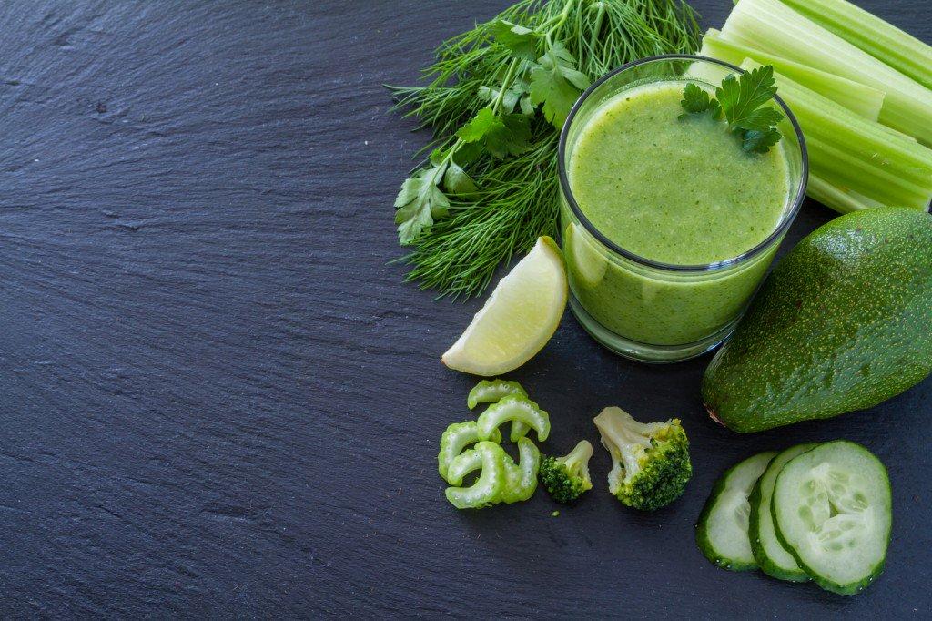 Зеленая диета на соках