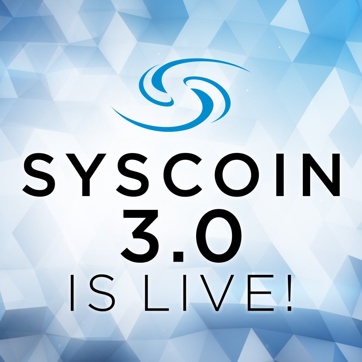 Syscoin 3 0 Is Live See Our Blog Post
