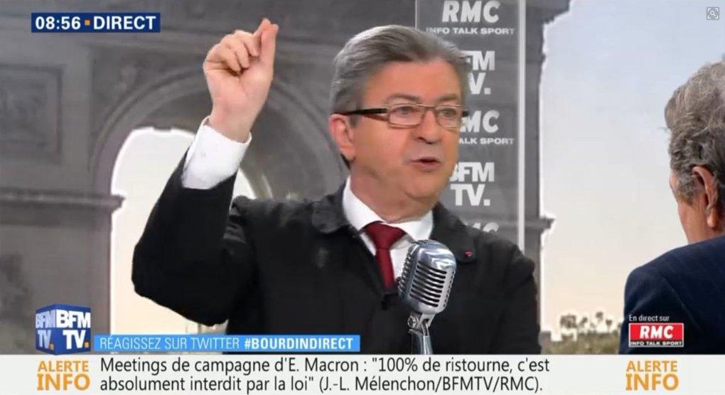 🇫🇷 @JLMelenchon a dit : Macron s'est approché 'à 150.000 (euros) du plafond' de dépenses autorisées pour la présidentielle. ❌ C'est faux (AFP) Macron a déclaré 16,6M€ son plafond était de 22,5M€ https://t.co/ecVyq6lgVZ