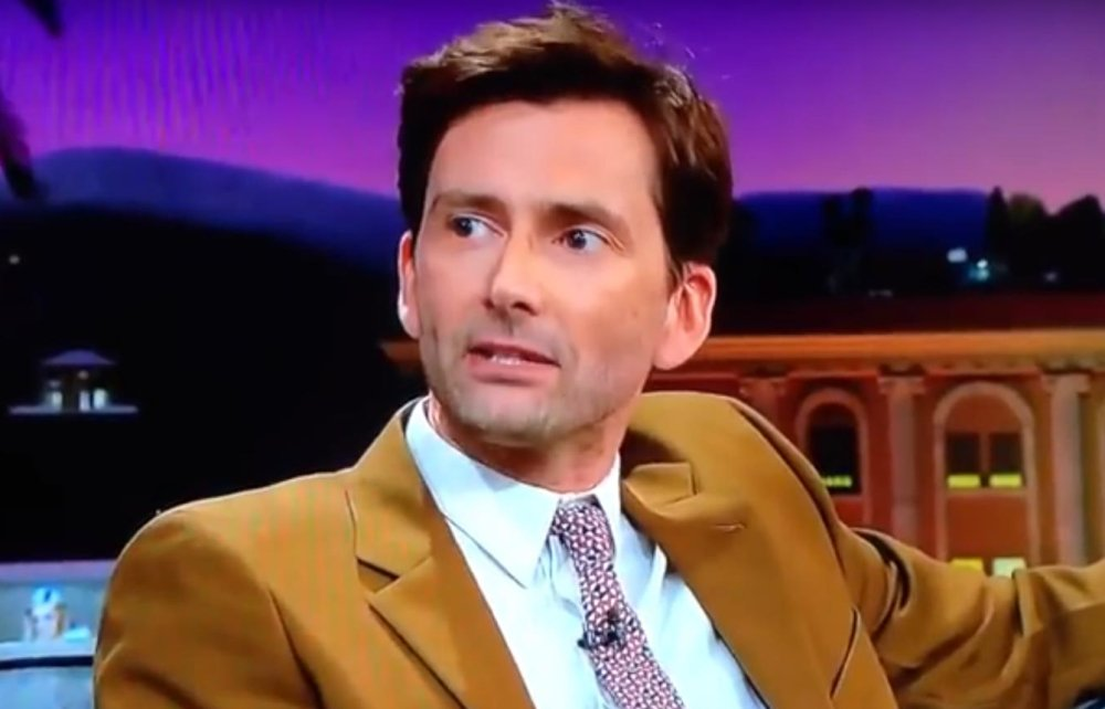 David Tennant on The Late Late Show With James Corden - Tuesday 1st May 2018