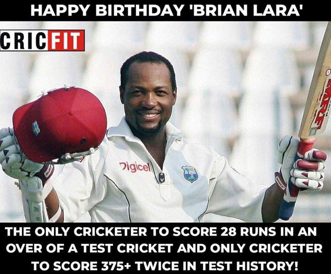 Happy Birthday Brian Lara!