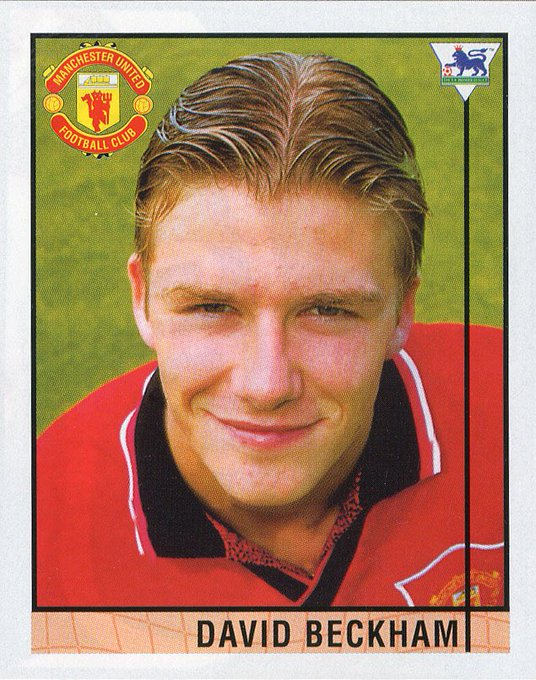 Happy 43rd birthday to the one and only David Beckham. It all began in the 90s