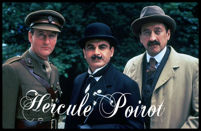 Happy birthday to the one&only Hercule Poirot: David Suchet (72)