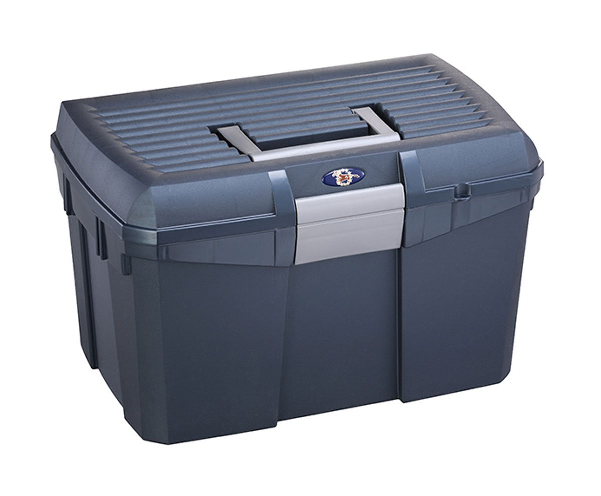 #winitwednesday May Prize Draw an #equestrian midnight blue tack box to enter Retweet ,Like and Follow us ends 31/5/18 #horseandhoof #win