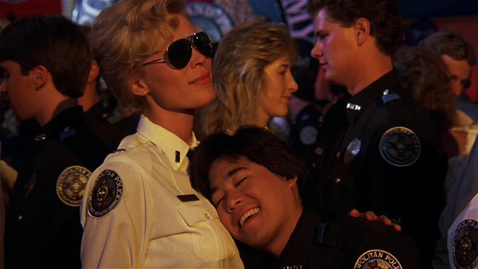 Happy Birthday to Police Academy and Revenge of the Nerds star Brian Tochi!