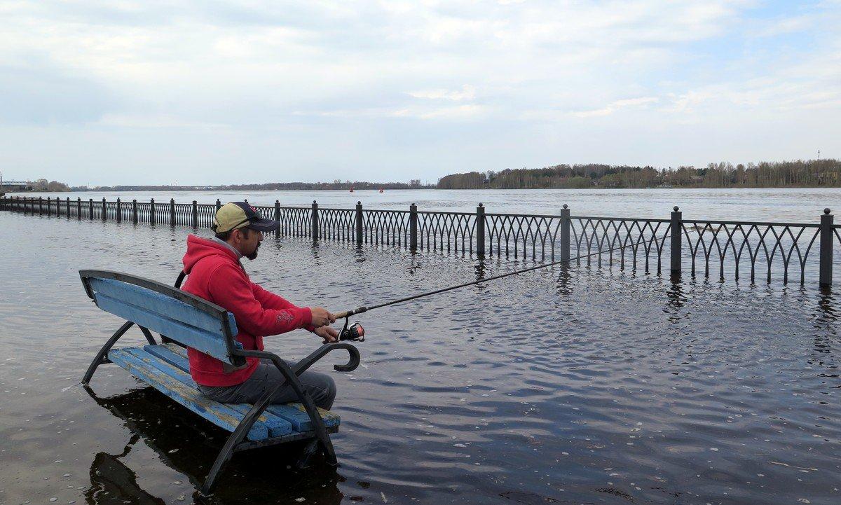 через несколько смотреть фото затопления набережной в рыбинске душе мечтает
