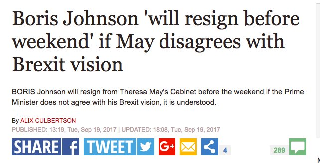 How many more times will friends of Boris Johnson make this threat before people stop taking it in any way seriously?