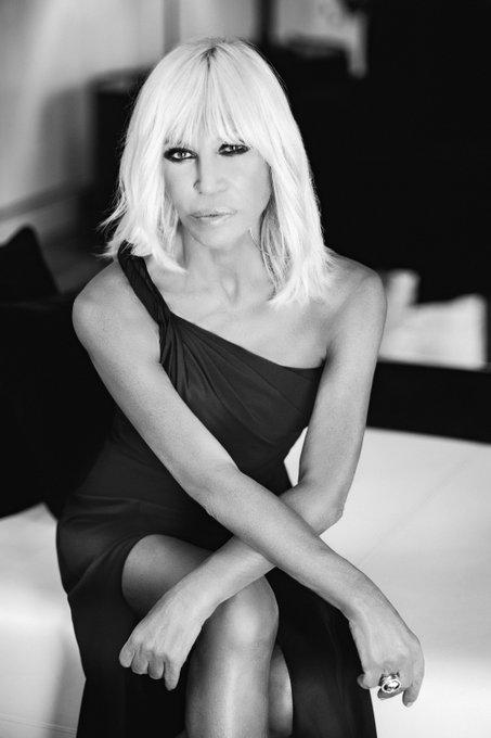 Happy birthday Donatella Versace  Rahi Rezvani  Via