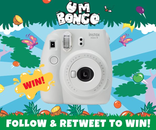 Follow & Retweet to win an Instax Mini 9 this May for instant photos of you and your friends, complete with that retro feel! #WinItWednesday #Win #Competition