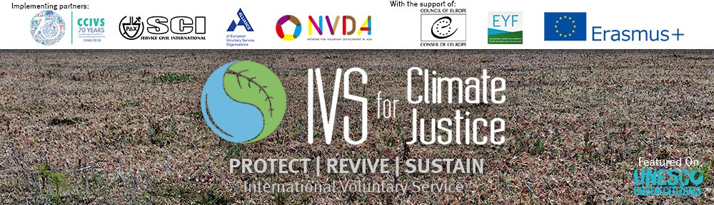 CIVS will join the IVS for Climate Justice annual campaign for 2018 by hosting a best practice work camp in the month of June in Western part of Kenya, Virhembe, Kakamega. #conservation #indigenoustrees #KakamegaRainforest #climatechange, #sustainability #environmentaleducation. https://t.co/xtCJZESl3G