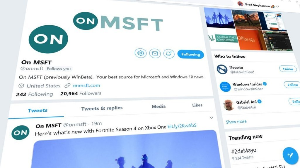 OnMSFT com on Twitter: