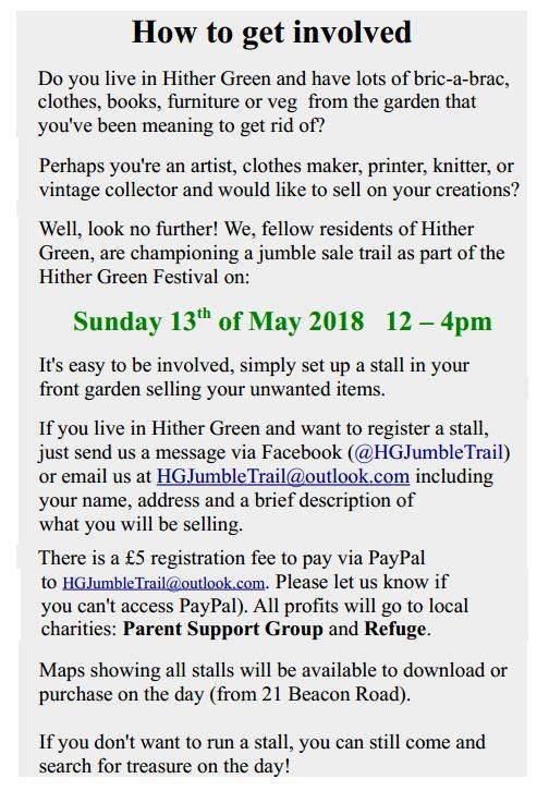 Hither Green's tweet -