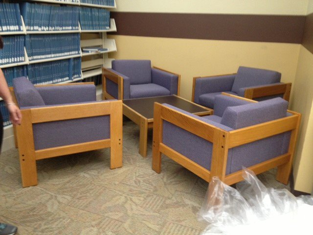 test Twitter Media - So excited for reupholstered chairs in SciLi. Thanks to state of CT training/work program and funding from Wes U Lib #reuse #sustainable https://t.co/jFRABo7pZQ