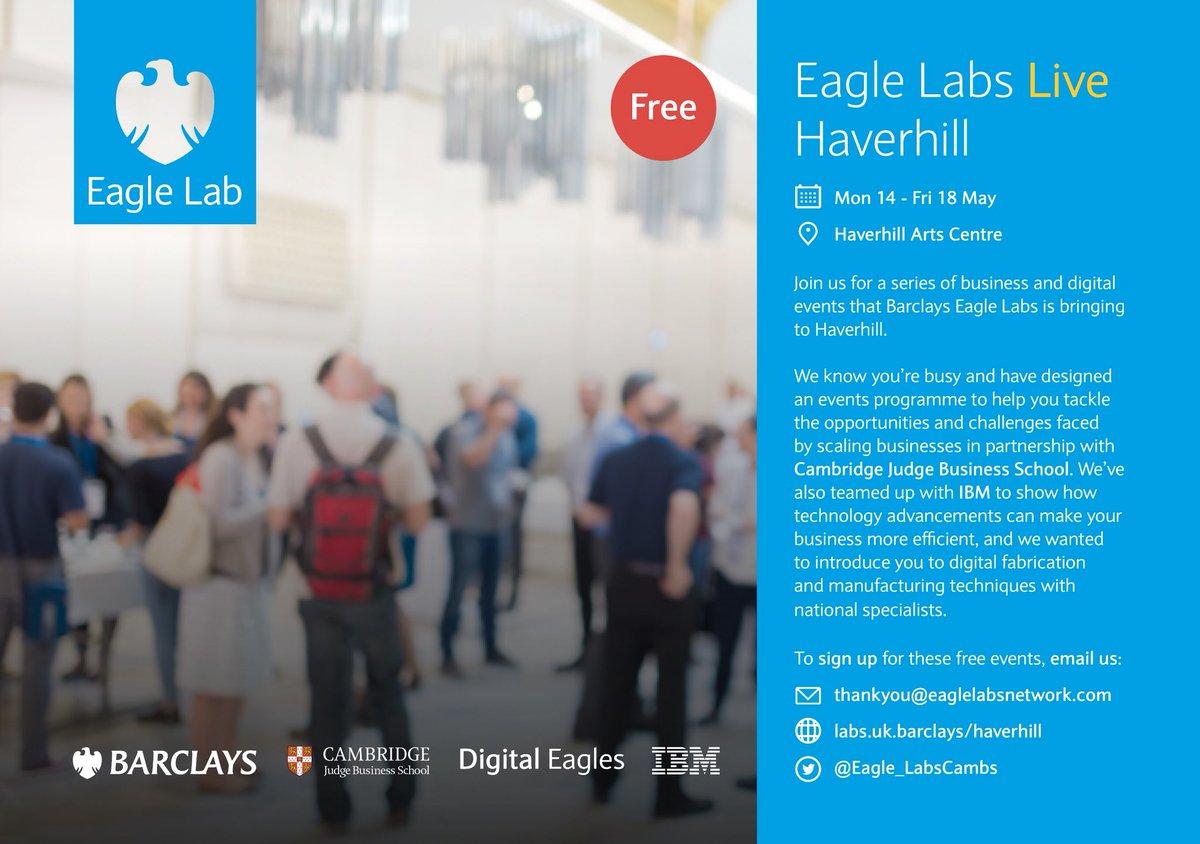 Eagle Lab Cambridge on Twitter: