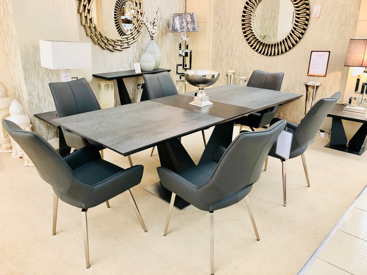 Comes With Matching Console Table And Lamp Tables Why Not Pop Down To Our Showroom In Hillington Try The Spinello Swivel Chairspictwitter