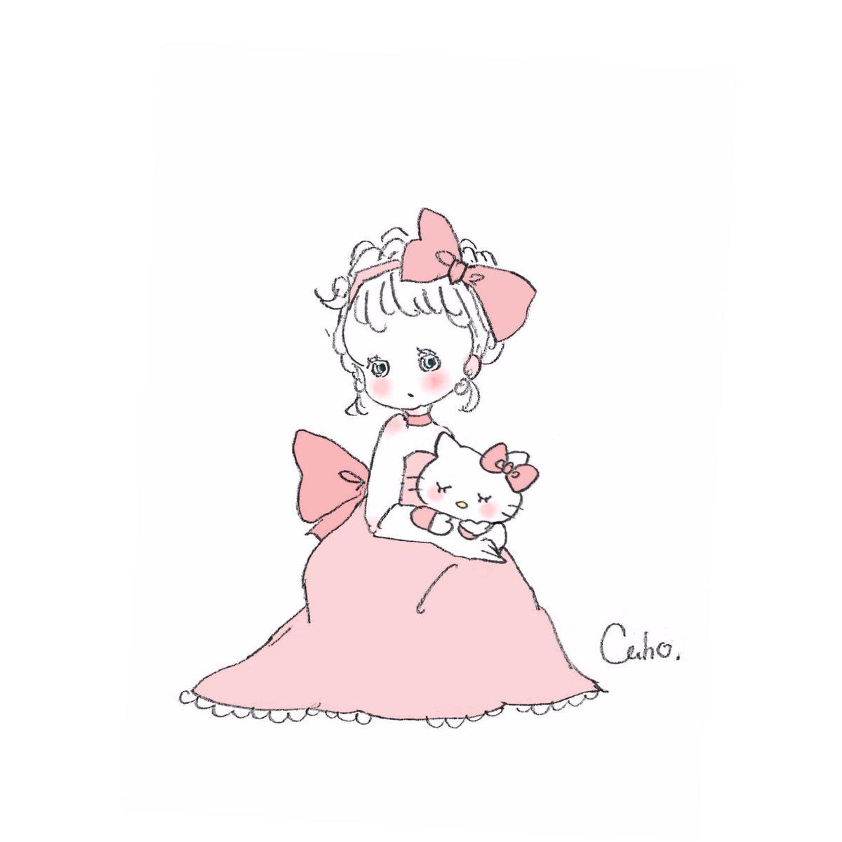 人気のダウンロード キティ ちゃん 可愛い イラスト 最高の壁紙