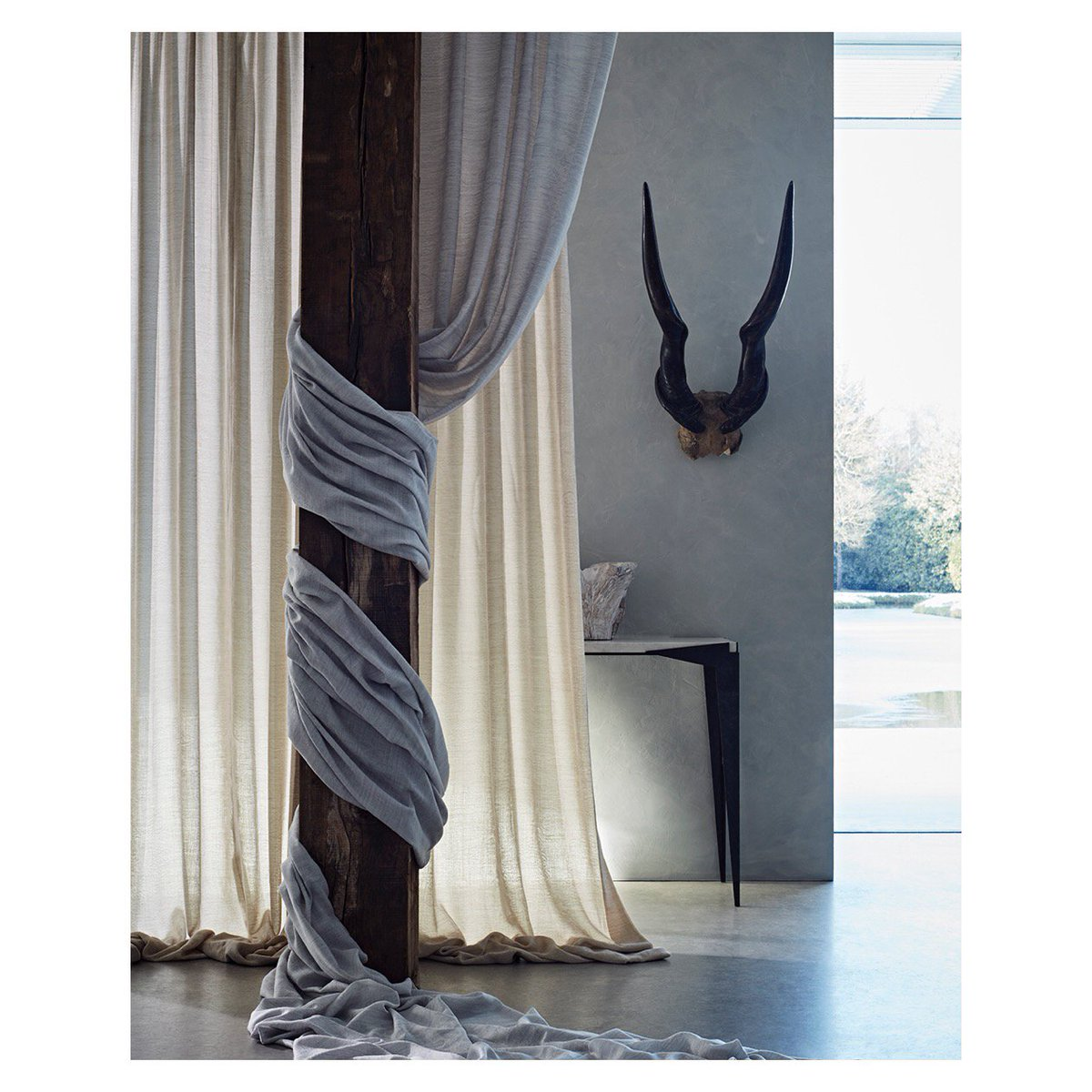 Campaign For Wool On Twitter Beautiful Drapes Curtains From DeLeCuona Loved Its Paisley Founded In 1992 By South African Born Bernie De