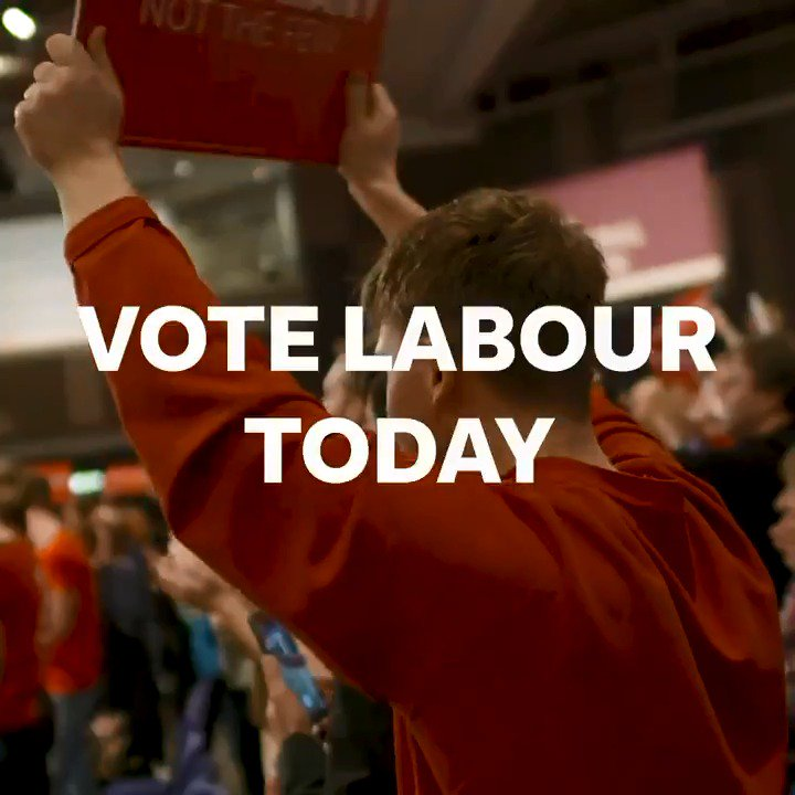 The most powerful voice in the country today? Yours. Today is the day to #VoteLabour. Spread the word ↓ https://t.co/jUfd4yN8xZ