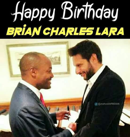Happy Birthday world greatest batsman Brian Lara