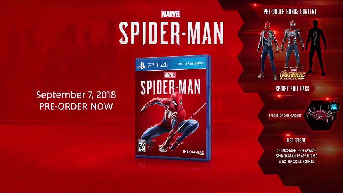 Insomniac Games On Twitter Get Early Access To The Spider Punk And