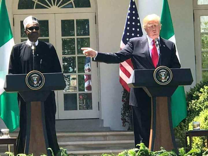 President Buhari is a real leader. Trump says.