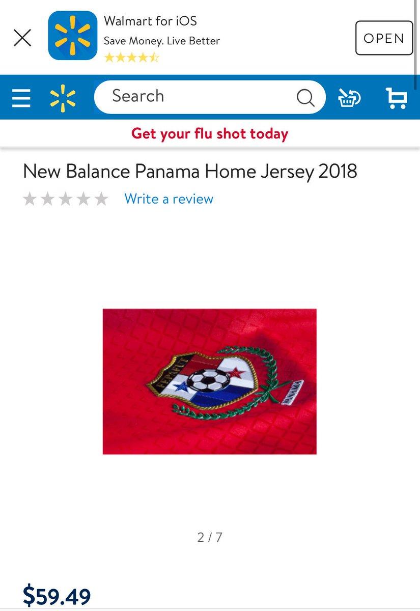 new balance panama home jersey 2018 walmart