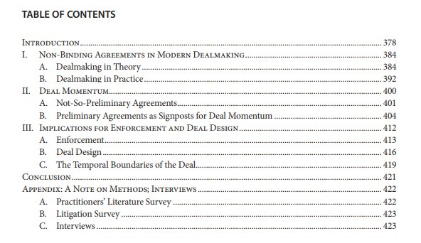 Ucla Law Review On Twitter In Issue 652 Deal Momentum By