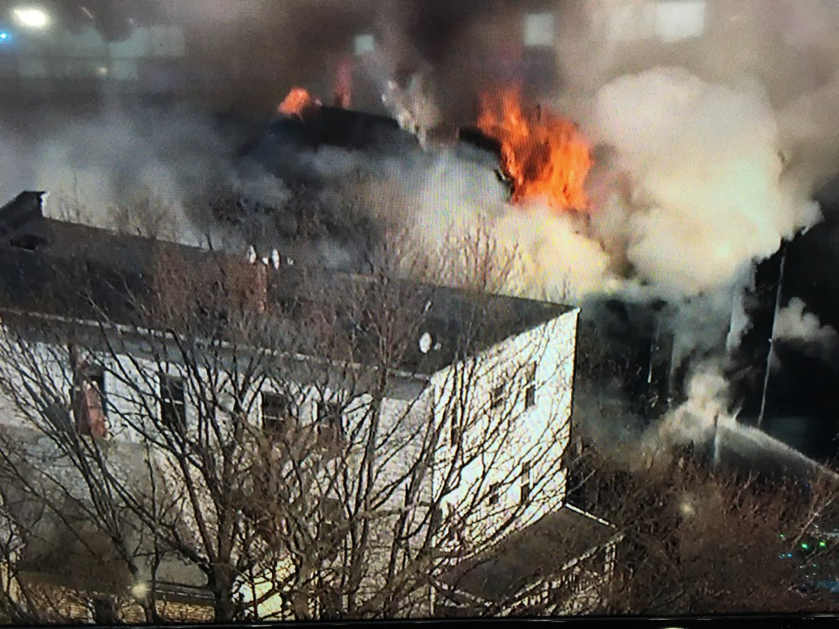 Mark Ockerbloom On Twitter Breaking Sky25 Over A Five Alarm Fire In Chelsea Right Now Two Buildings On Fire No Injuries Reported At This Time