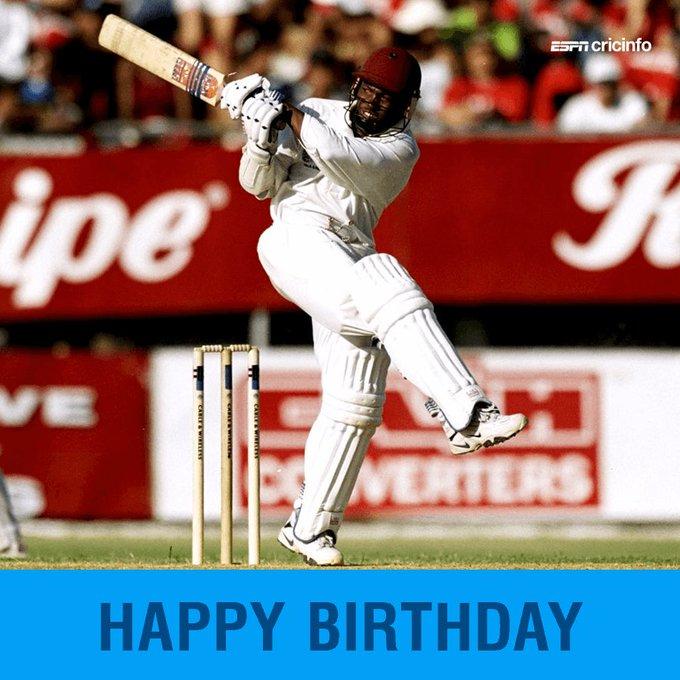 Happy birthday to Brian Lara!