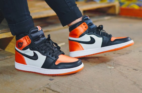 The Air Jordan 1 Satin \