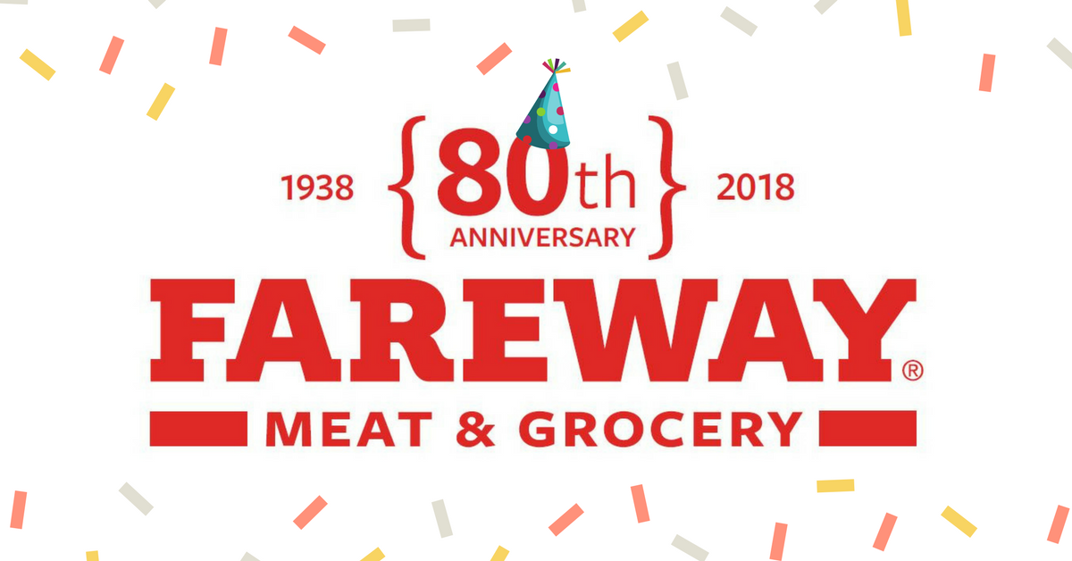 Fareway Stores On Twitter Were Turning 80 So Were Celebrating
