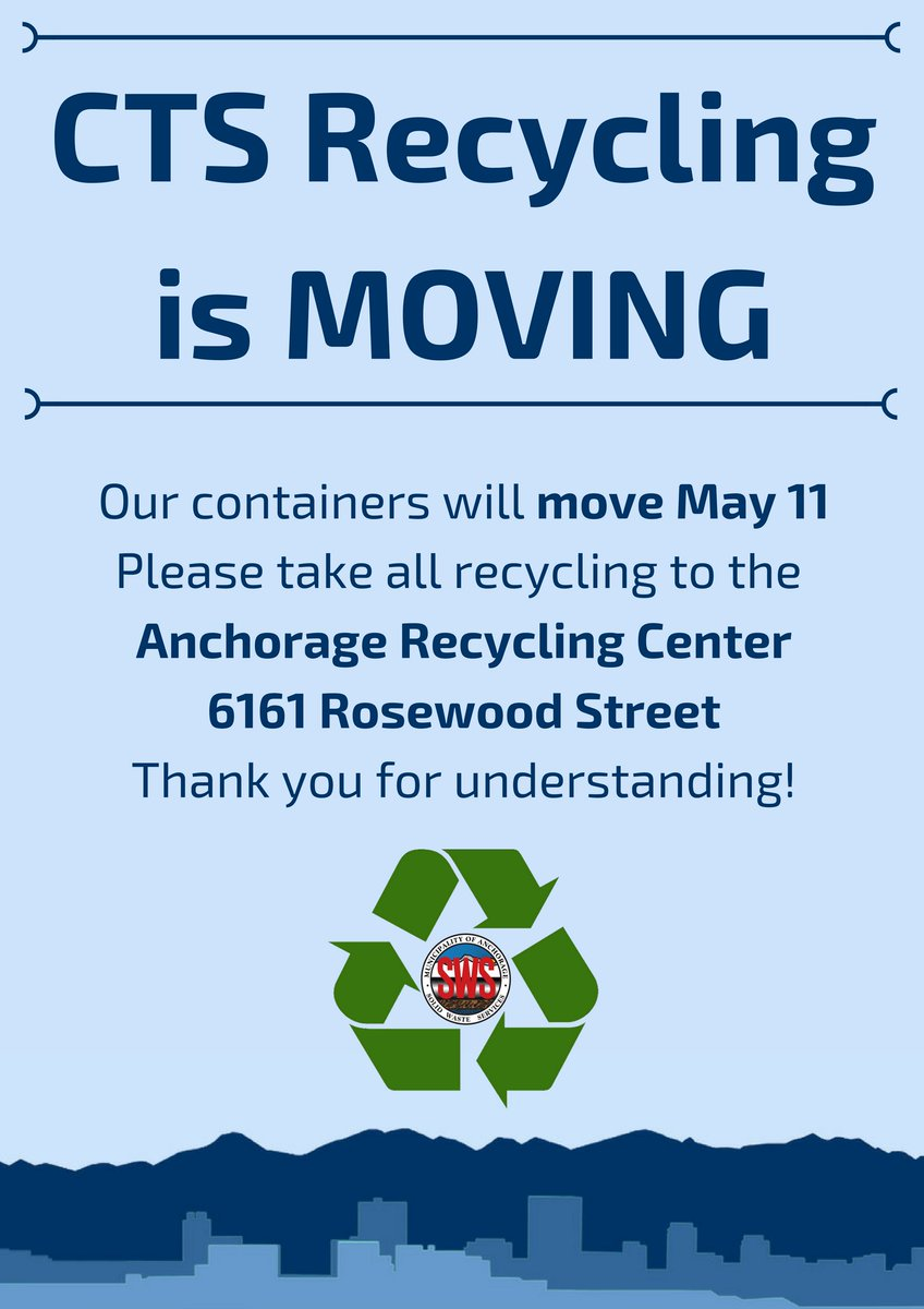 Anchorage Recycling Center >> Solid Waste Services S Tweet Hey Anchorage The Recycling