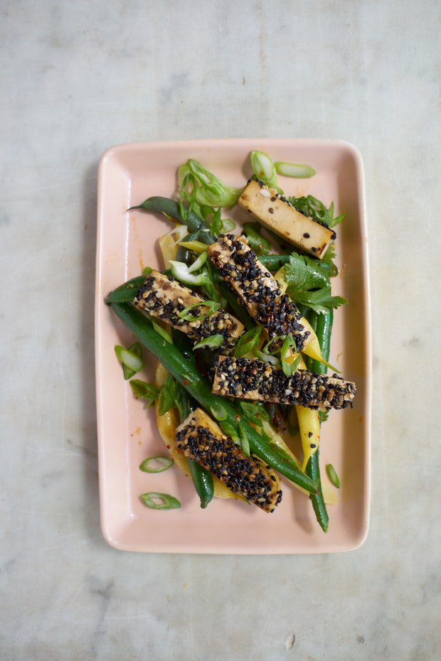 Twenty years of variations on this Martha Stewart recipe - still never gets old. Golden-crusted Sesame Seeded Tofu https://t.co/gzOpTUXtDA 💫 https://t.co/zzvtVqAZUw