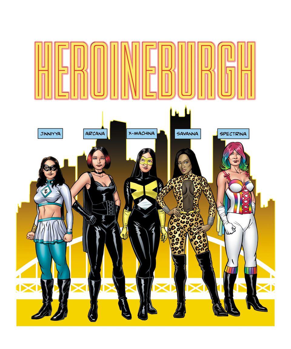 Lesbian heroine 4 cosplay