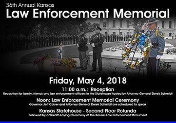 Ks Corrections On Twitter Kansas Law Enforcement Memorial