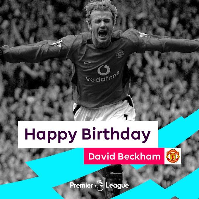 Happy Birthday to the six-time champion, David Beckham!