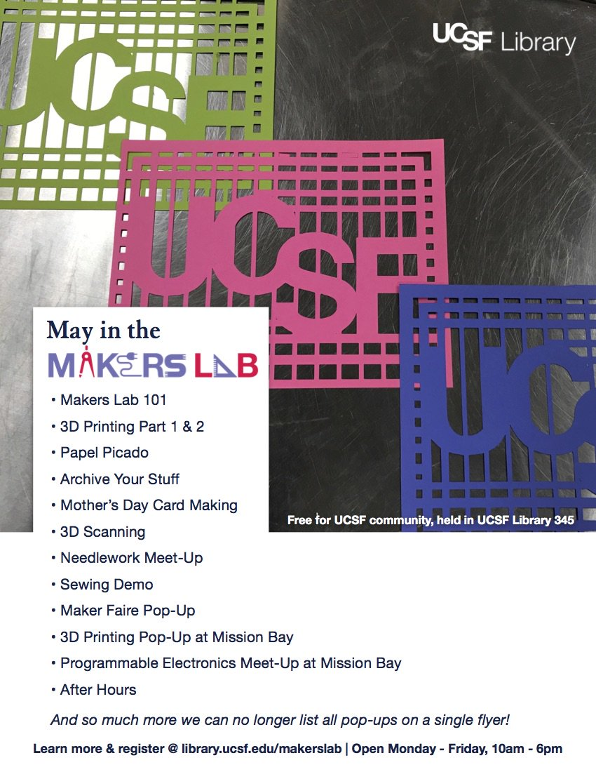 UCSF Makers Lab on Twitter: