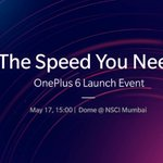 #OnePlus6 3:30PM to 8:00PM 21May 11:00AM to 7:00PM 22May #Mumbai HighStreetPhoenix #Pune PhoenixMarketCity #Chennai TheForumVijaya #Hyderabad TheForumSujana #Delhi DLFPlaceSaket #Kolkata SouthCityMall #Ahmedabad GulmoharParkMall #Bangalore OnePlusExpStore, Brigade Rd