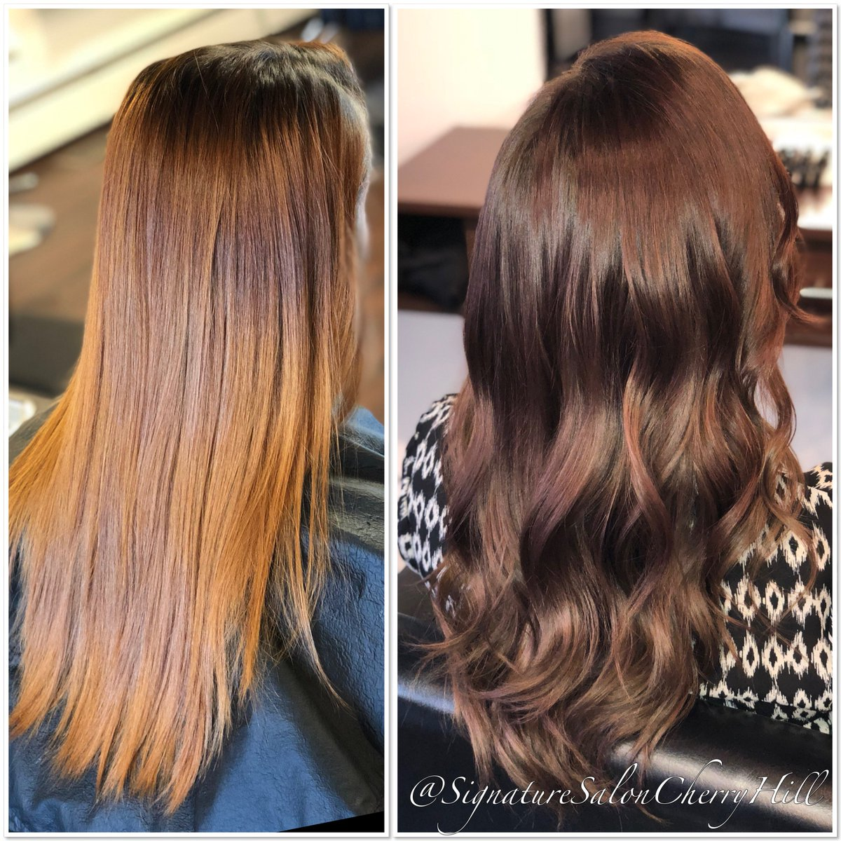 Signaturesalon On Twitter From Faded To Fabulous Beautiful Redken Hair Color By Lexi Refreshed Newlook Haircolor Fab Redken Colorproof Styles Hairstyles Hairgoals Beauty Instapic Picoftheday Modern Salonlife Longhair Brunette