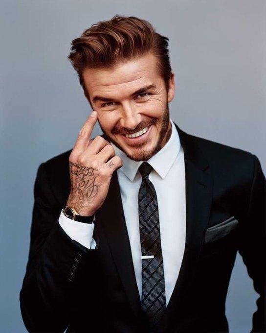 43                     Happy birthday David Beckham