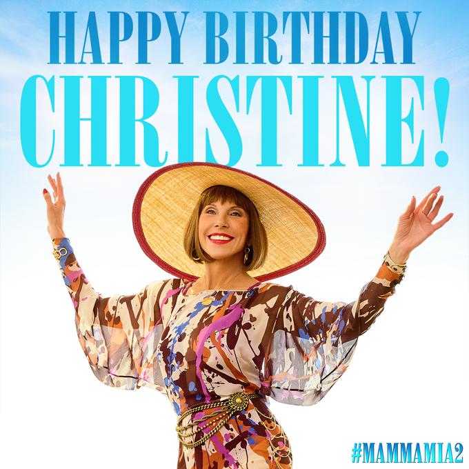 Happy birthday to the fabulous Christine Baranski!