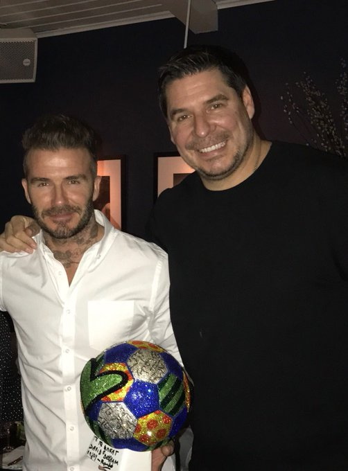 Happy Happy Birthday, Feliz Cumpleaños to my brother, my partner and specially my friend David Beckham!