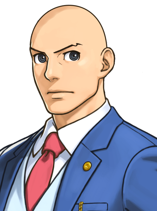 Making Your Favorite Characters Bald On Twitter Phoenix Wright