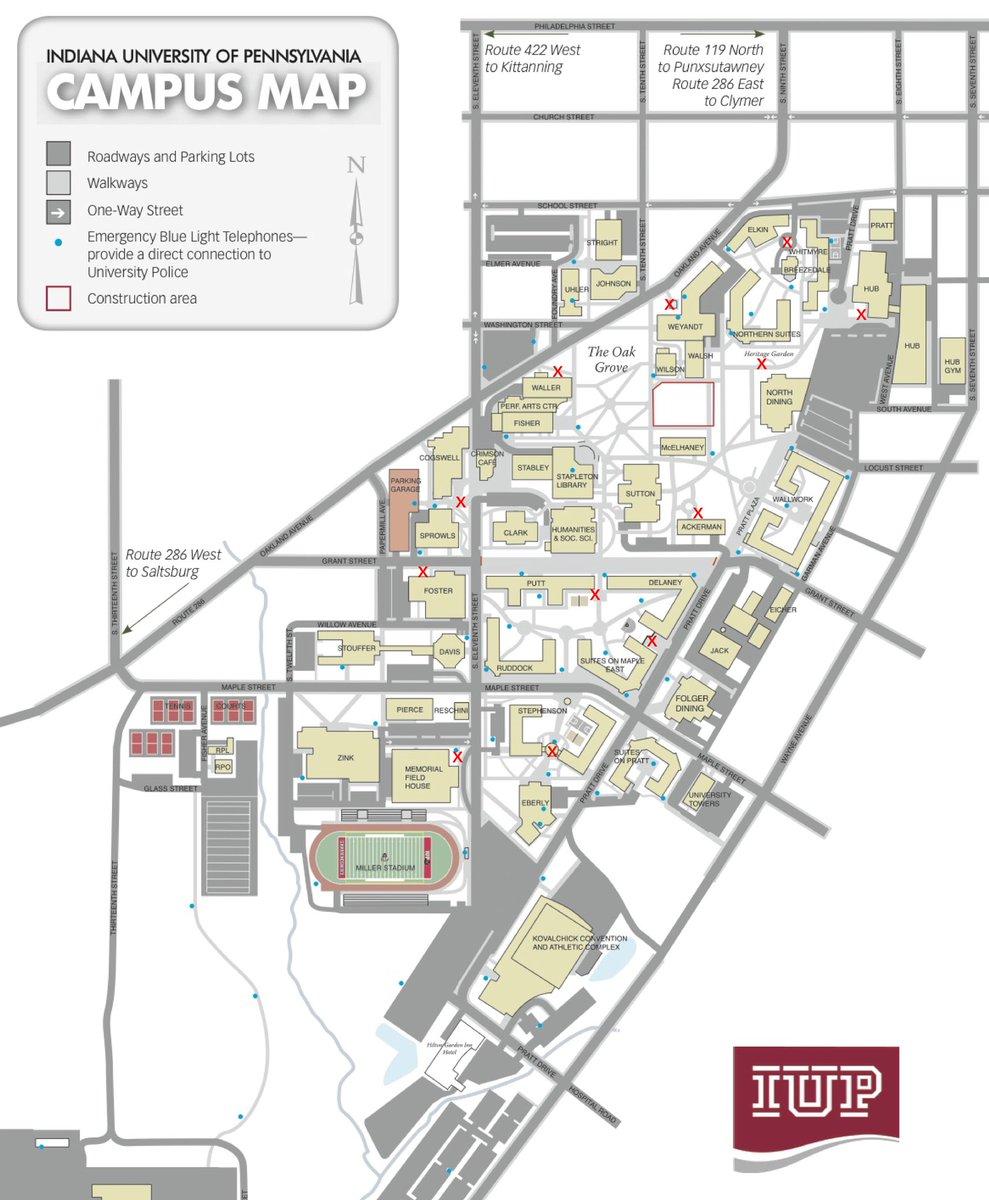 map of iup campus Static On Twitter Leggooooooo map of iup campus