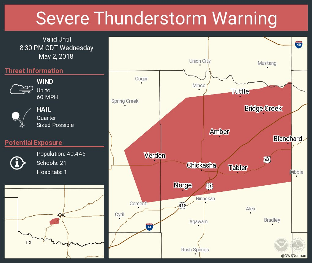 Cement Oklahoma Map.Nws Severe Tstorm On Twitter Severe Thunderstorm Warning Including