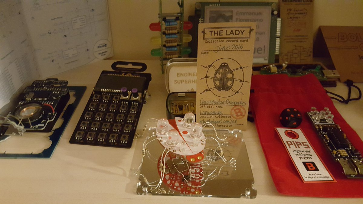I just added #BoldportClub The Lady to the shelf :) (yeah I'm really falling behind...)