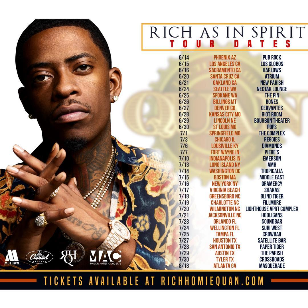 Image result for Rich Homie Quan tour