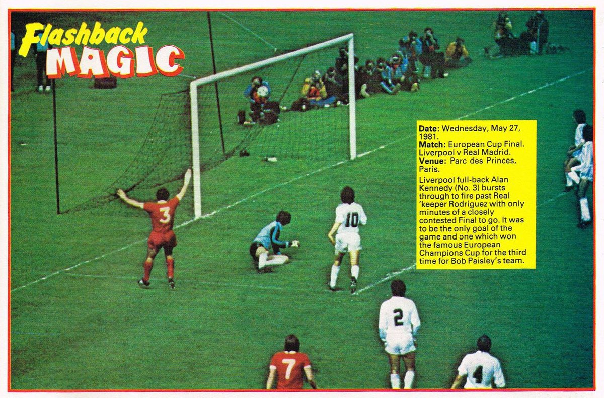 Liverpool Vs Real Madrid Final 1981