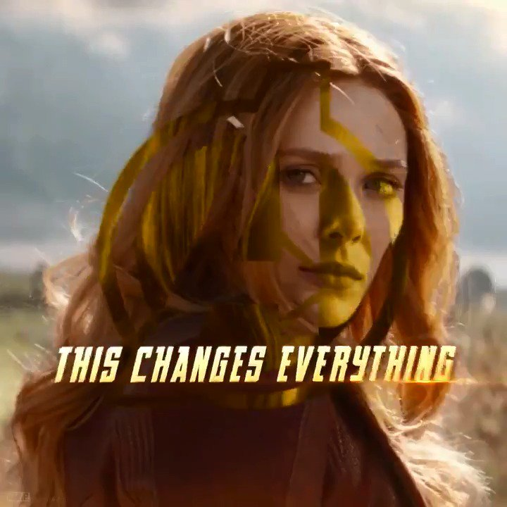 It's all been leading to this. @Avengers: #InfinityWar #ScarletWitch https://t.co/aU1pdKnqhg